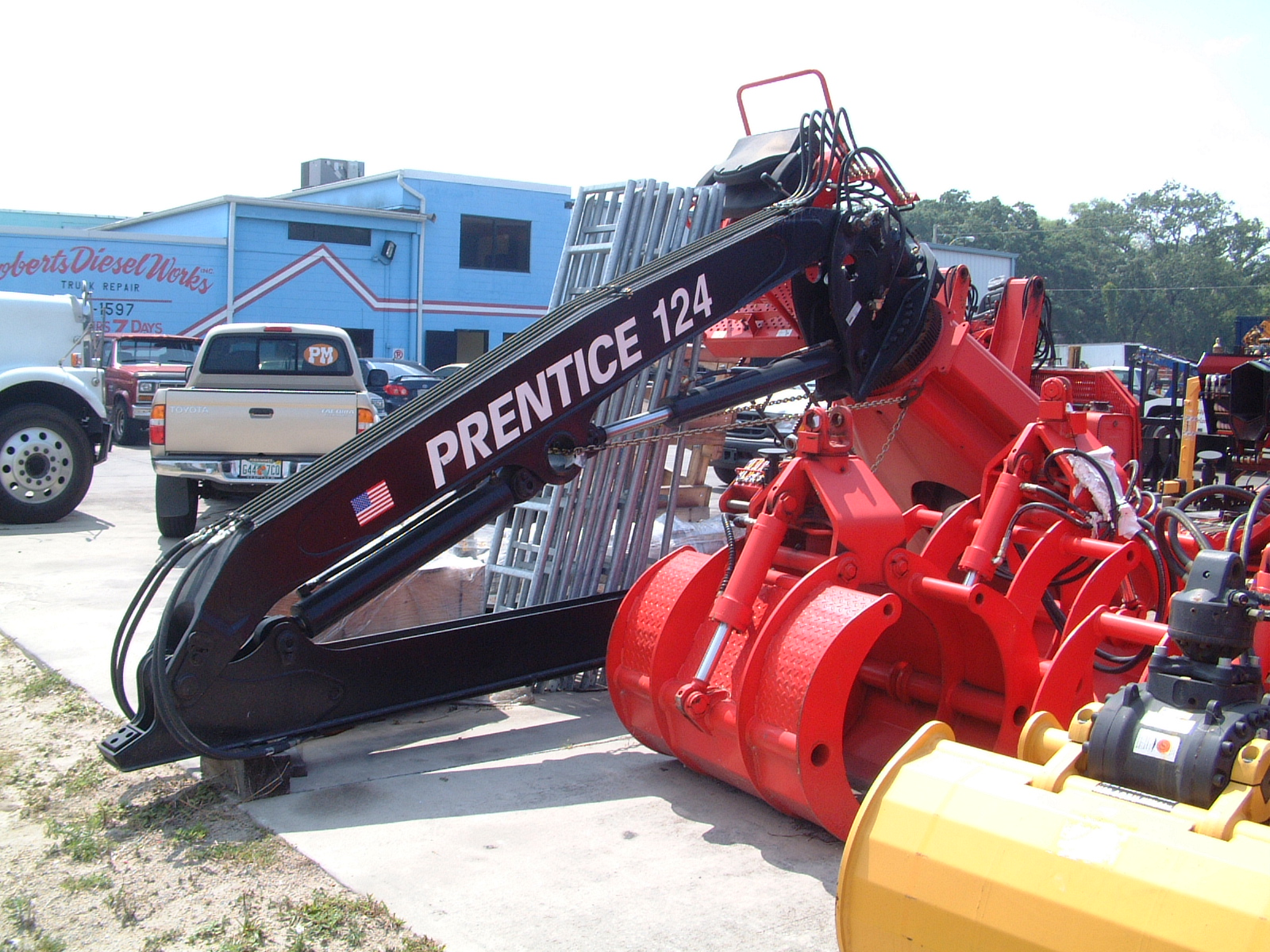 Prentice Parts | Trash Truck Loader