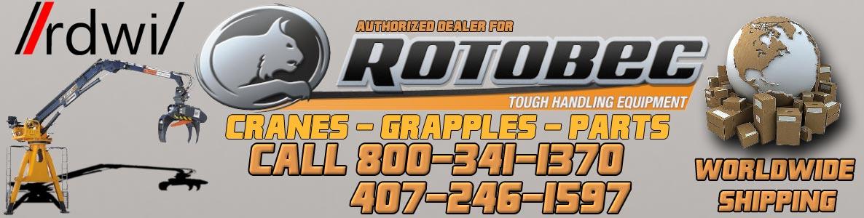 Rotobec Crane and Parts authorized dealer | Trash Truck Loader