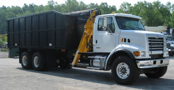 Trash Truck Loader
